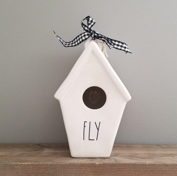 NEW Rae Dunn FLY Birdhouse